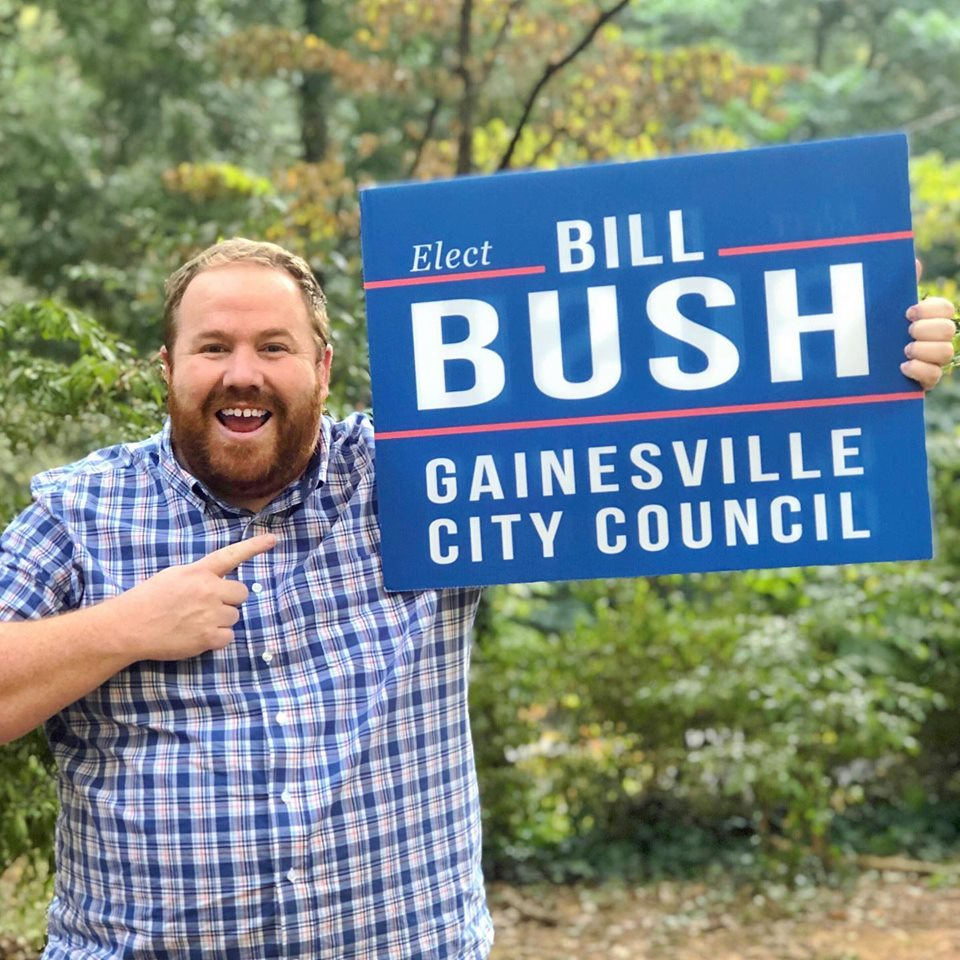 A Vote for BILL BUSH is a Vote for Gainesville!